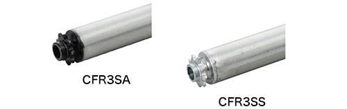 CFR3SA 樹脂製スプロケット(ベアリング無し)/CFR3SS 鉄製スプロケット(ベアリング入り)