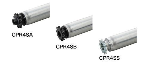 CPR4SA 樹脂製スプロケット(ベアリング無し)/CPR4SB 樹脂製スプロケット(ベアリング入り)/CPR4SS 鉄製スプロケット(ベアリング入り)