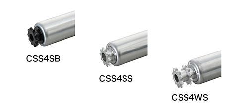 CSS4SB 樹脂製スプロケット(ベアリング入り)/CSS4SS 鉄製スプロケット(ベアリング入り)/CSS4WS 鉄製スプロケット ダブル(ベアリング入り)