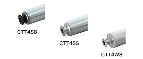 CTT4SB 樹脂製スプロケット(ベアリング入り)/CTT4SS 鉄製スプロケット(ベアリング入り)/CTT4WS 鉄製スプロケット ダブル(ベアリング入り)