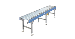 Case transport conveyors